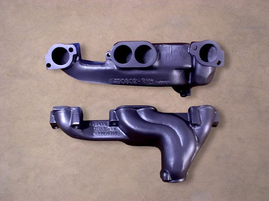 RM-4 Round Port Ram Air/HO/SD Style Factory Headers