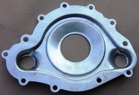 SSWP-1  STAINLESS 11-BOLT WATER PUMP PLATE