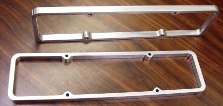 "VC-50C SBC 3/4"" BILLET VALVE COVER SPACERS"