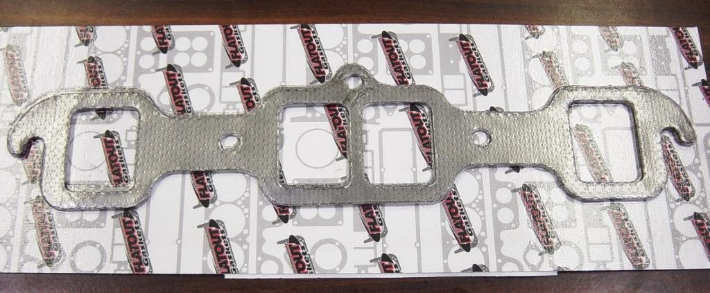 GO-1P Olds GRAPHITE COATED EXHAUST MANIFOLD GASKETS