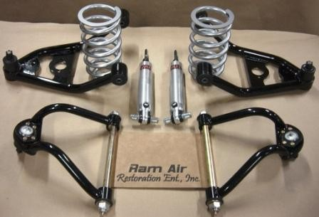 A-064 GM-A body (GTO, Chevelle, Olds 442) Tubular Front Suspension w/Coil Over shocks