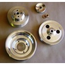 PSO-3  1968-70 OLDS BILLET PULLEY SET w/ps, & ac