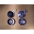 PS-69-70B, PS-69-70C Billet Pulley Set - All 1969-81 V8s without Power Steering