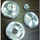 PSPS-64-2B, PSPS-64-2C PSPS-64-2D Billet Pulley Set - 1964 (type 2) single groove  P/S, NO AC