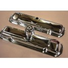 VC-64L 1964 STYLE PONTIAC VALVE COVERS WITH BREATHER