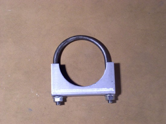"2.0-3.5"" Heavy duty U-Bolt Exhaust Clamp"