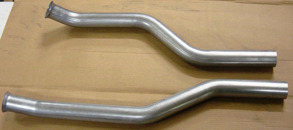 SHP1-B Mandrel Bent Short Headpipes for BIG Car 65-70