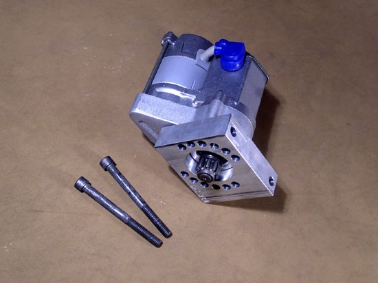 MS-1 High Torque Mini-starter for Pontiac Engines - 1964 and Later