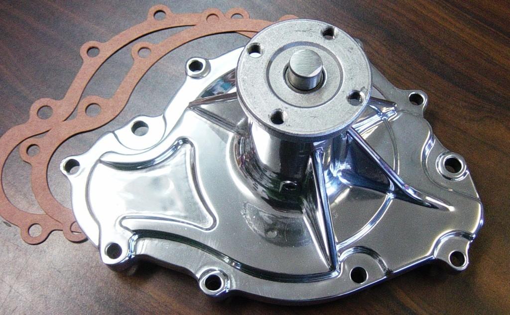 AWP-1P High Flow Aluminum Water Pump 69-81 PONTIAC