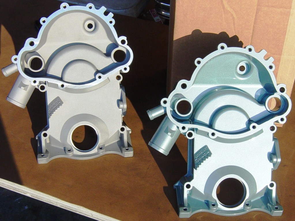 TC-11 Stock timing cover for 69-81 Pontiac