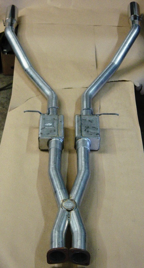 "UE-55 ULTIMATE ""OFF ROAD"" COMPLETE EXHAUST SYSTEM 04-06 GTOS"