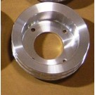 PLC-2 Billet 2-groove Crank Pulley for 1968-70 Pontiacs