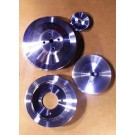 PSO-1  400/425 1965-69 OLDS BILLET PULLEY SET w/ps, no ac